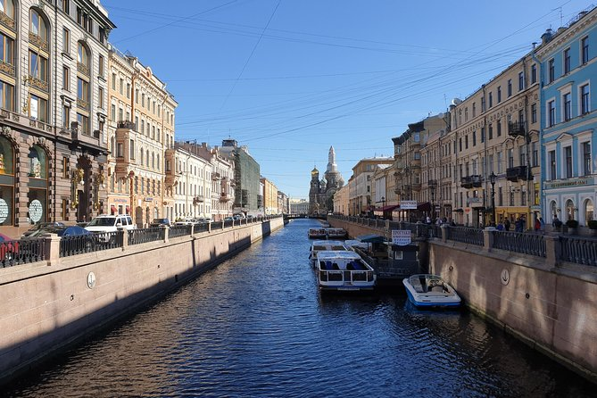 St Petersburg City Tour with Church on the Blood Visit and Metro Trip