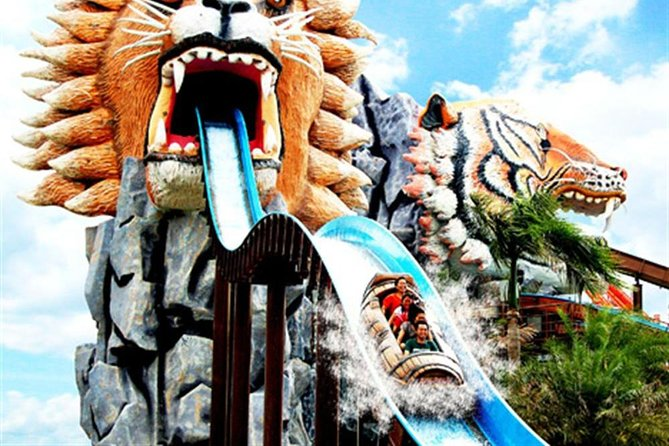 Siam Water Park Bangkok Thailand Ticket with theme park and round trip transfer photo 8