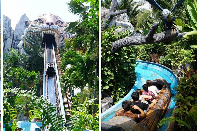 Siam Water Park Bangkok Thailand Ticket with theme park and round trip transfer