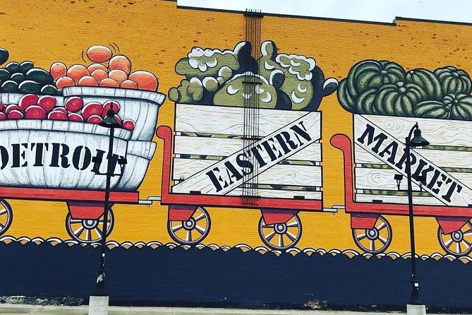 One of the many Murals in Eastern Market.