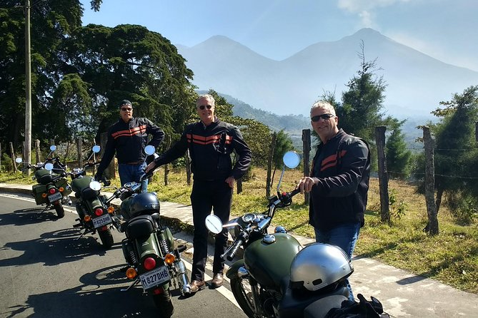 Half-Day Volcano Loop on a Classic Motorcycle