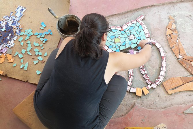 Eco-Workshop: Learn Mosaic from Recycled Ceramic!