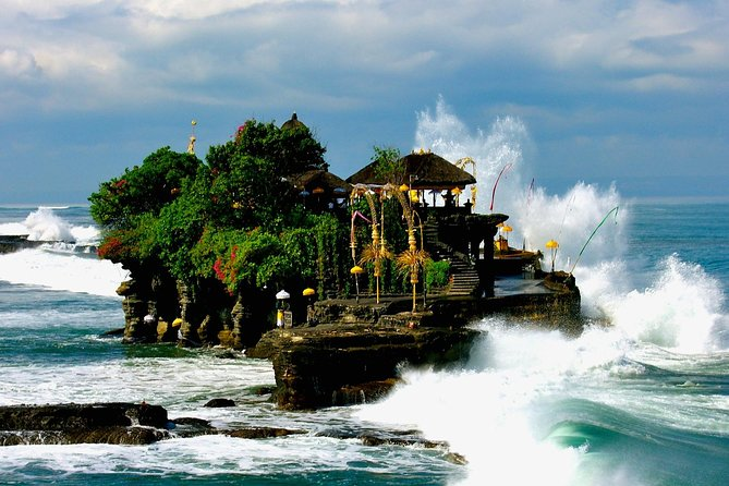 Tanah lot Temple Best sunset and Waterfall in bali Exclusive Full Day Tour