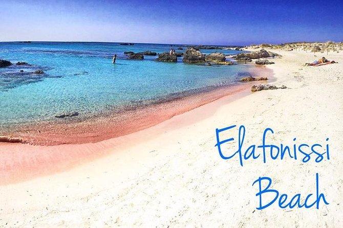 Elafonissi Beach, Monastery & Winery - from Chania area