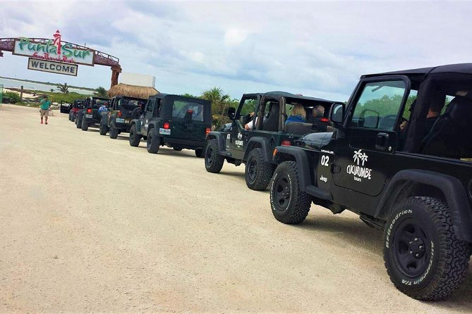Cozumel Jeep Excursion and Snorkel Tour with Lunch