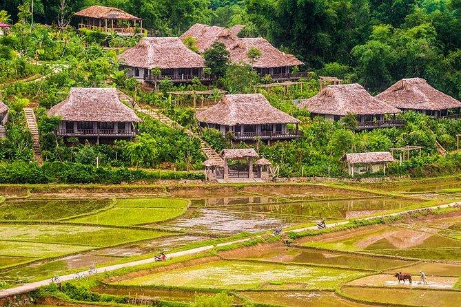 Vandring i Mai Chau - Pu Luong naturreservatstur 3 dagar