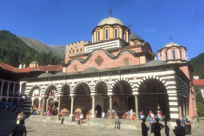 Sightseeing Transfer from Skopje to Sofia with a stop at Rila Monastery