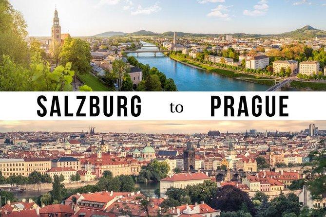 Private Transfer from Salzburg to Prague with 1 hour Stop in Cesky Krumlov