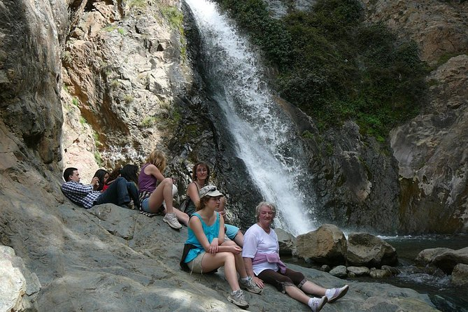 Shared group day trip from Marrakech to Ourika valley & atlas mountains
