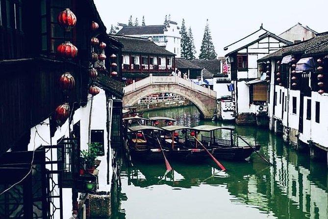 Exploring Chinese Version of Venice Zhujiajiao The Water Town