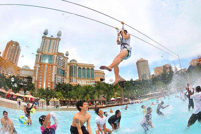 Kuala Lumpur Hotels to Sunway Lagoon Theme Park Transfer (1-way)