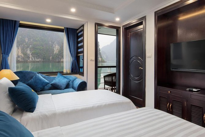 LeTheatre Cruise Exploring LanHa-HaLong Bay 2 Nights in Junior Suite Room photo 10
