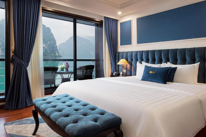 LeTheatre Cruise Exploring LanHa-HaLong Bay 2 Nights in Executive Suite Room
