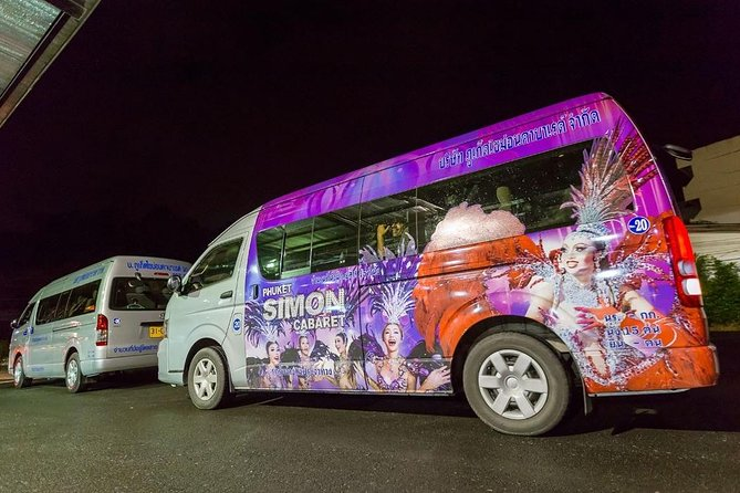 Phuket Simon Cabaret Show Vip.seat With Shuttle