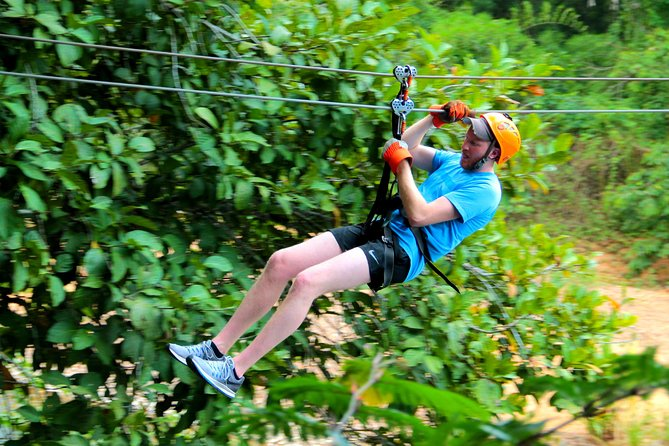 Private Jungle Zip Line Adventure From Belize City