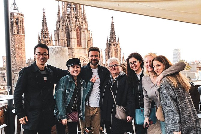 Barcelona terrace tour and free drink