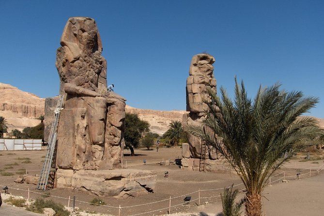 Luxor West Bank Group Tour: Valley of the Kings–Hatshepsut Temple–Memnon Colossi