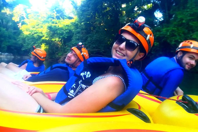 Private Cave Tubing & Zip Line Adventure From Belize City