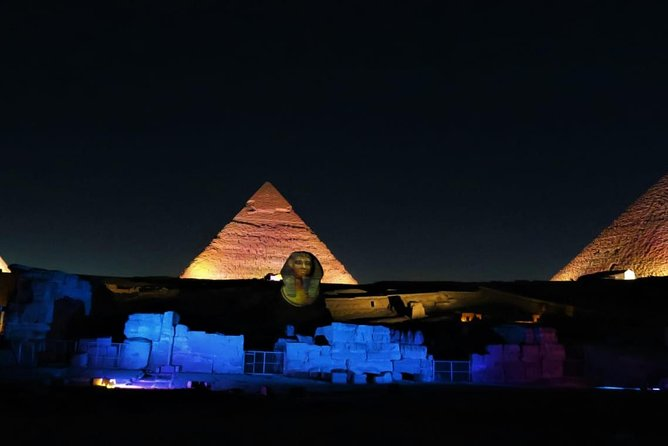 Pyramids Sound and Light Show with Private transfer photo 4
