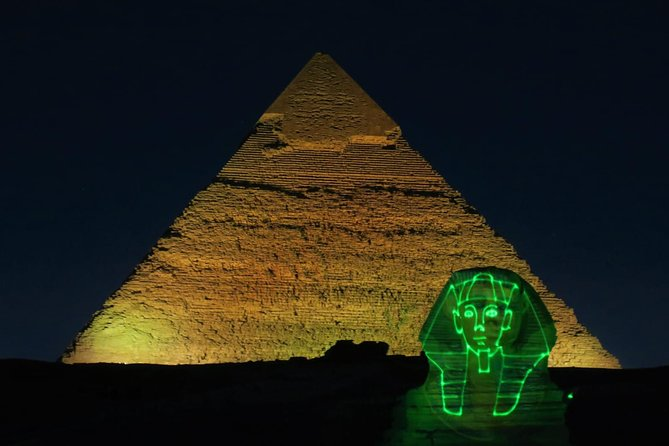 Pyramids Sound and Light Show with Private transfer photo 1
