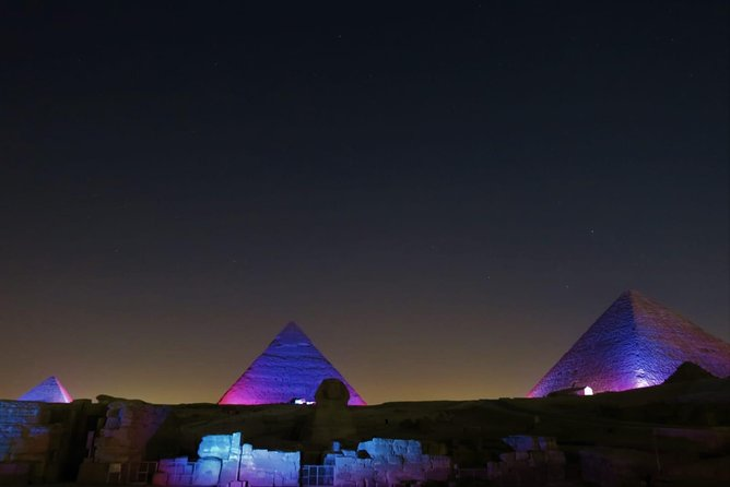 Pyramids Sound and Light Show with Private transfer photo 7