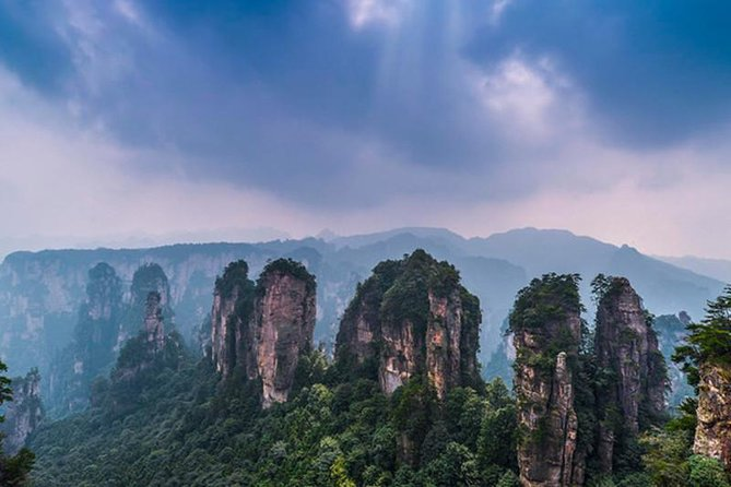 Private day tour to Zhangjiajie Glass Bridge and Avatar Mountain