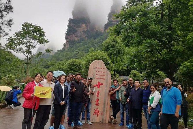 Private 2days Zhangjiajie highlights glass Bridge,Avatar Mountain Tianmen cave