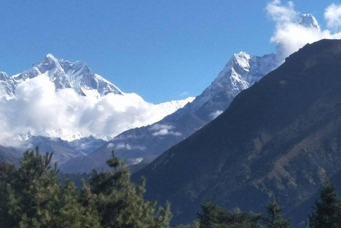 Everest Panoramic View- Blessing trip by Monks!