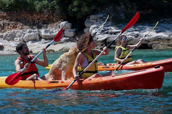 Supetar-Postira kayaking