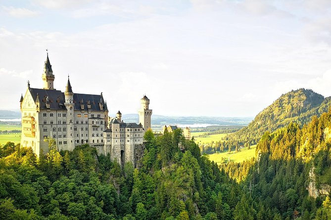 Zomer privétour Zugspitze en kasteel Neuschwanstein incl. Alpine rodelen