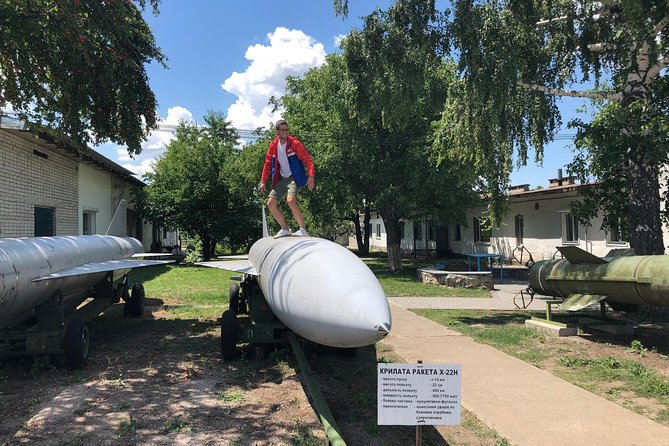 Strategic Missile Forces Base: Round-Trip Transfer from Kyiv& Museum Guided Tour