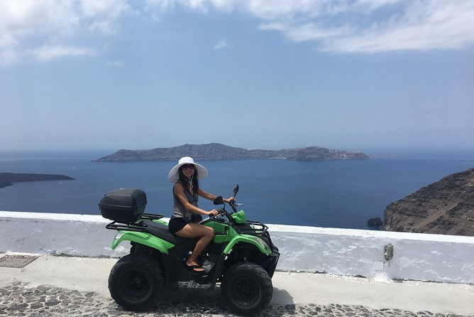 Cruise through the magical villages of Santorini on our ATVs, Scooters, or Cars photo 10