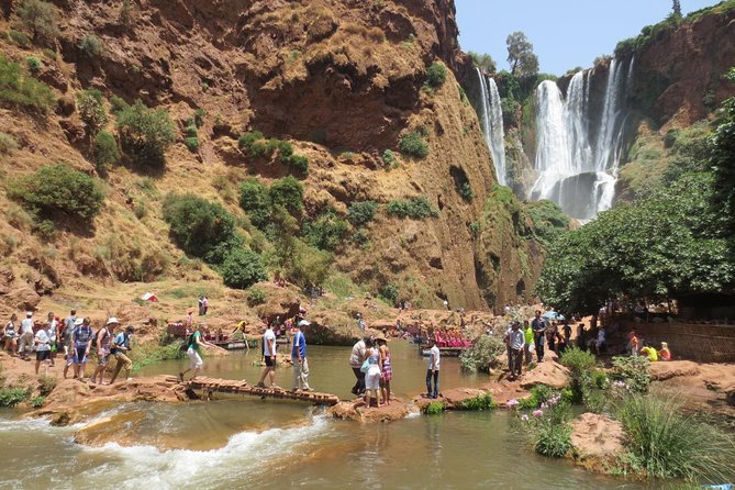 Marrakech: Private day trip to Ouzoud waterfalls