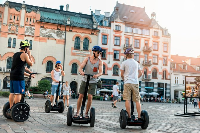 90-Minutes Segway Historical Old Town Tour in Warsaw