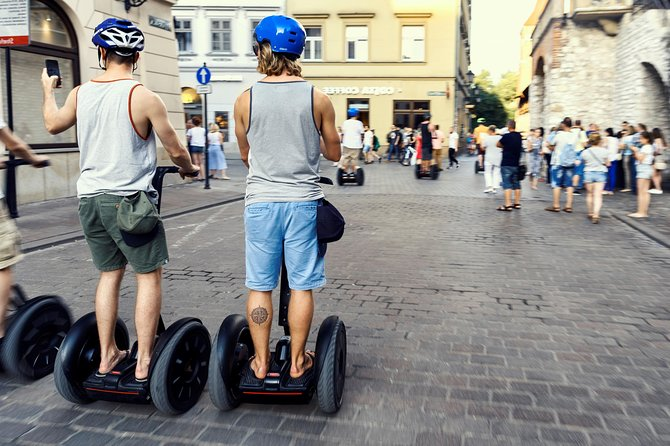 Segway Tour of Gdańsk: Full Tour (Old Town + Shipyard) 2,5-Hour