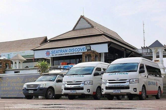Minivan pickup service from your hotel on Koh Samui