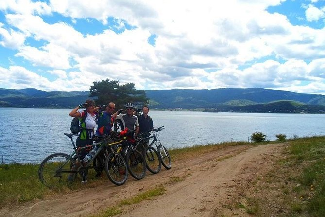 Panoramic Cycling around Batak dam