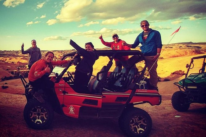 Fun times on Hell's Revenge Moab Cowboy Tour!