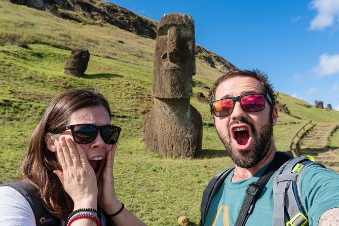 The birth of the Moai: Excursión full day guiada y privada Isla de Pascua.
