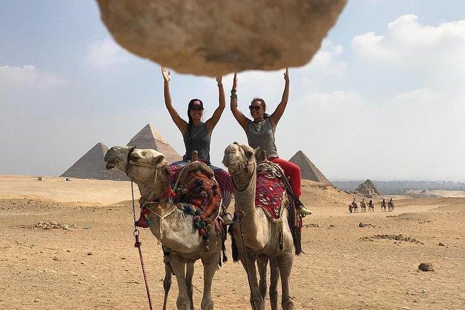 Enjoy the pyramids with secrets