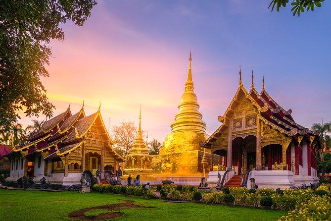 Wat Umong and Doi Suthep Temples Sunset Tour – Half Day