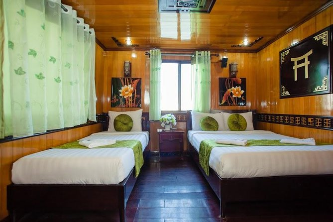 Ha Long Bay and Bai Tu long Bay Lemon Cruise 3 Days 2 Nights