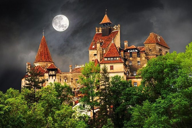 One day tour Dracula Castle Rasnov Fortress from Brasov