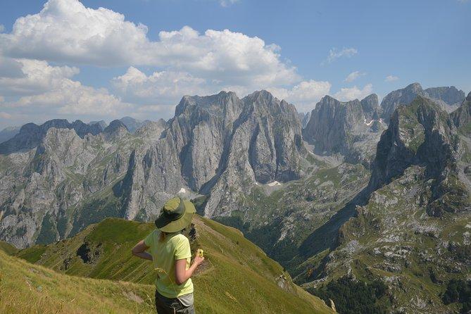 Prokletije (Popadija, Talijanka, Volušnica) Hiking Tour