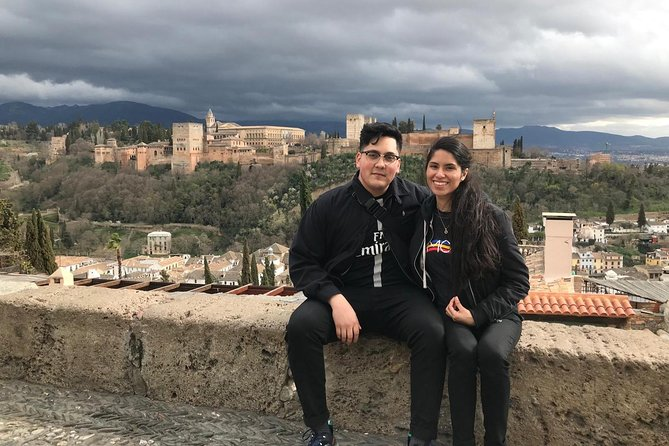 The Alhambra and Granada from Seville