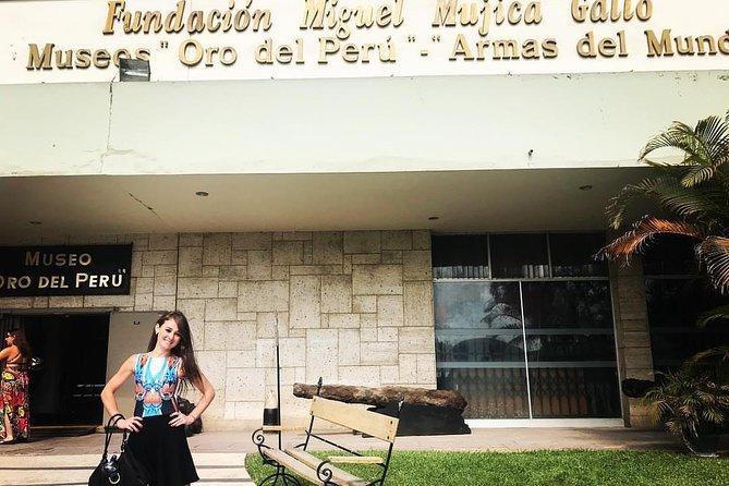"""Half Day Tour - Museum """"Oro del Perú y Armas del Mundo"""""""