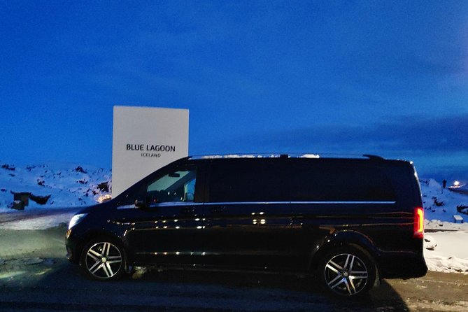 Blue Lagoon Premium & Reykjanes Peninsula | Private day Tour in a Mercedes Benz