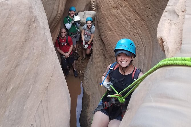 Private Half-Day Canyoneering Tour in Moab
