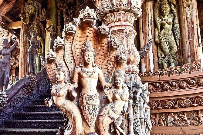 Pattaya : The Sanctuary of Truth Entrance fee and round trip transfer option photo 9