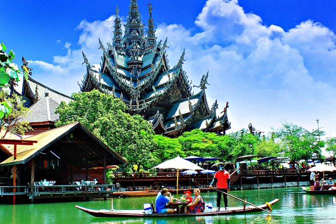 Pattaya : The Sanctuary of Truth Entrance fee and round trip transfer option photo 3
